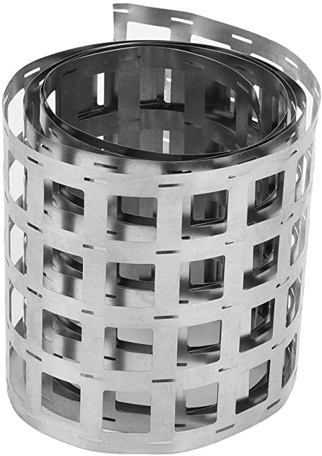 biliten 18650 Battery Dedicated Spot Welding Nickel Plated Nickel Plated Steel with Nickel Sheet Welded Piece 8mm Wide