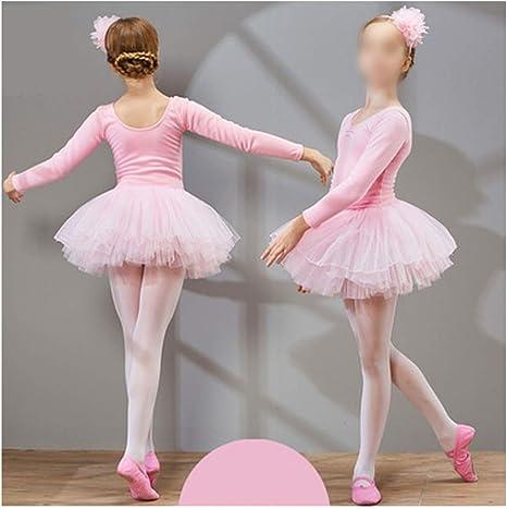 Vestido de Desgaste de Danza de Ballet para niñas Falda de Ballet ...
