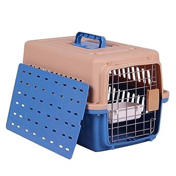 XHHWZB Caja de Aire para Mascotas Gato y Perro Transporte aéreo ...