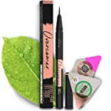 Premium Black Eyeliner with Precise Micro-Tip [Easy to Use], Waterproof, Smudgeproof - Free of Oil, Paraben & Cruelty…