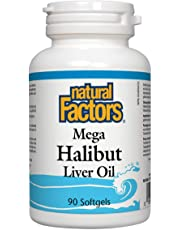 Mega Halibut Liver Oil (90Capsules) Brand: Natural Factors