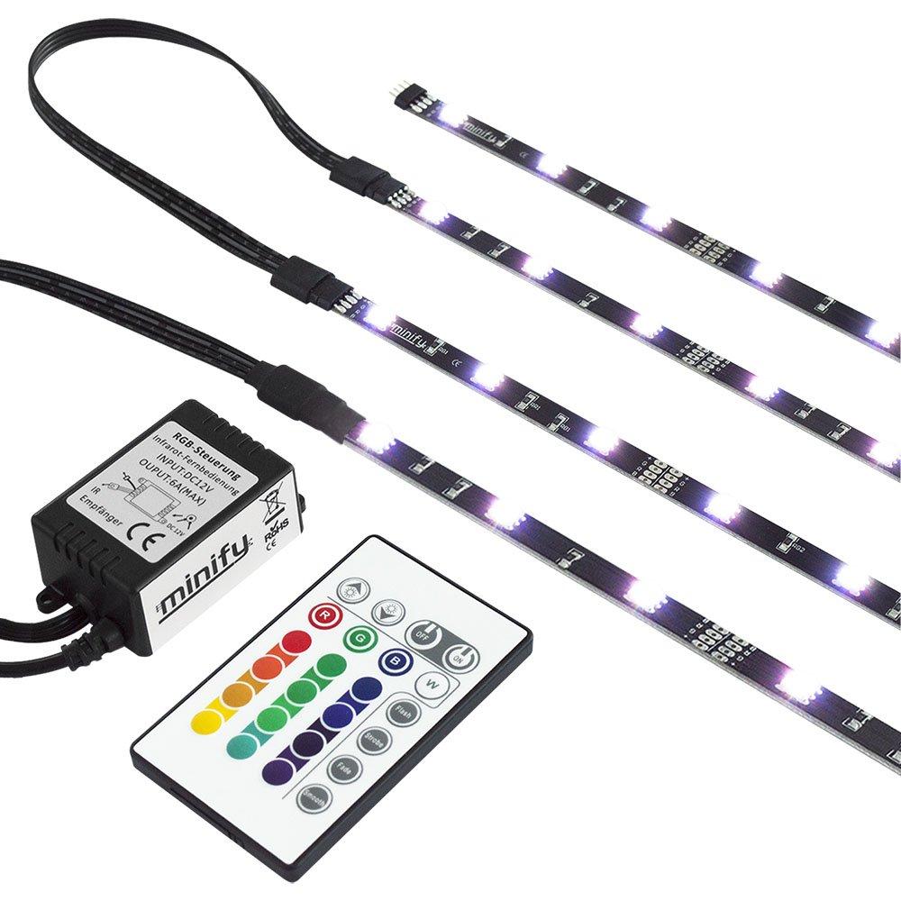 RGB TV HINTERGRUNDBELEUCHTUNG FÜR 42-60 ZOLL (107-152cm) - LED ...
