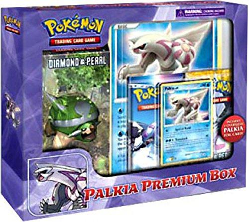 Card Promo Foil Pearl (Pokemon Palkia Premium Box (1 Deck, 1 Palkia Promo, 1 Oversize Promo, 2 Packs) Great Christmas Gift!)