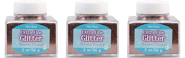 Sulyn 2oz. Glitter Stacker Jar - Chocolate Diamond