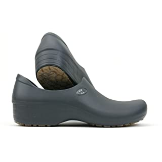 Women's Cute Nursing Shoes - Waterproof Slip-Resistant - Keep Nursing (9, Gray Electro)