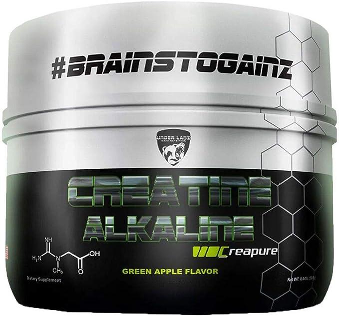 Creatina Alkaline 200G Green Apple - Under Labz por Under Labz Hard Nutrition