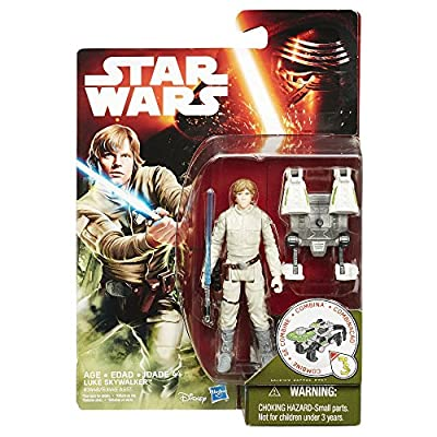 Star Wars The Empire Strikes Back 3.75-Inch Figure Forest Mission Luke Skywalker Bespin: Toys & Games