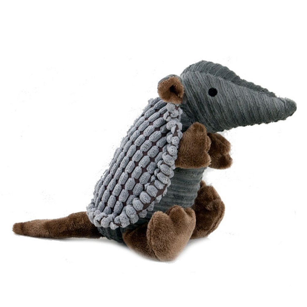 Karmax Pet Supplies Plush Armadillo Squeaky Dog Training Toy by Karmax Foley