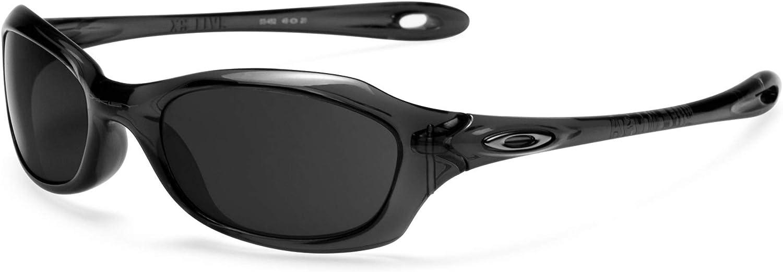 Revant Verres de Rechange pour Oakley XS Fives - Compatibles avec les Lunettes de Soleil Oakley XS Fives Chromé Noir Mirrorshield - Non Polarisés