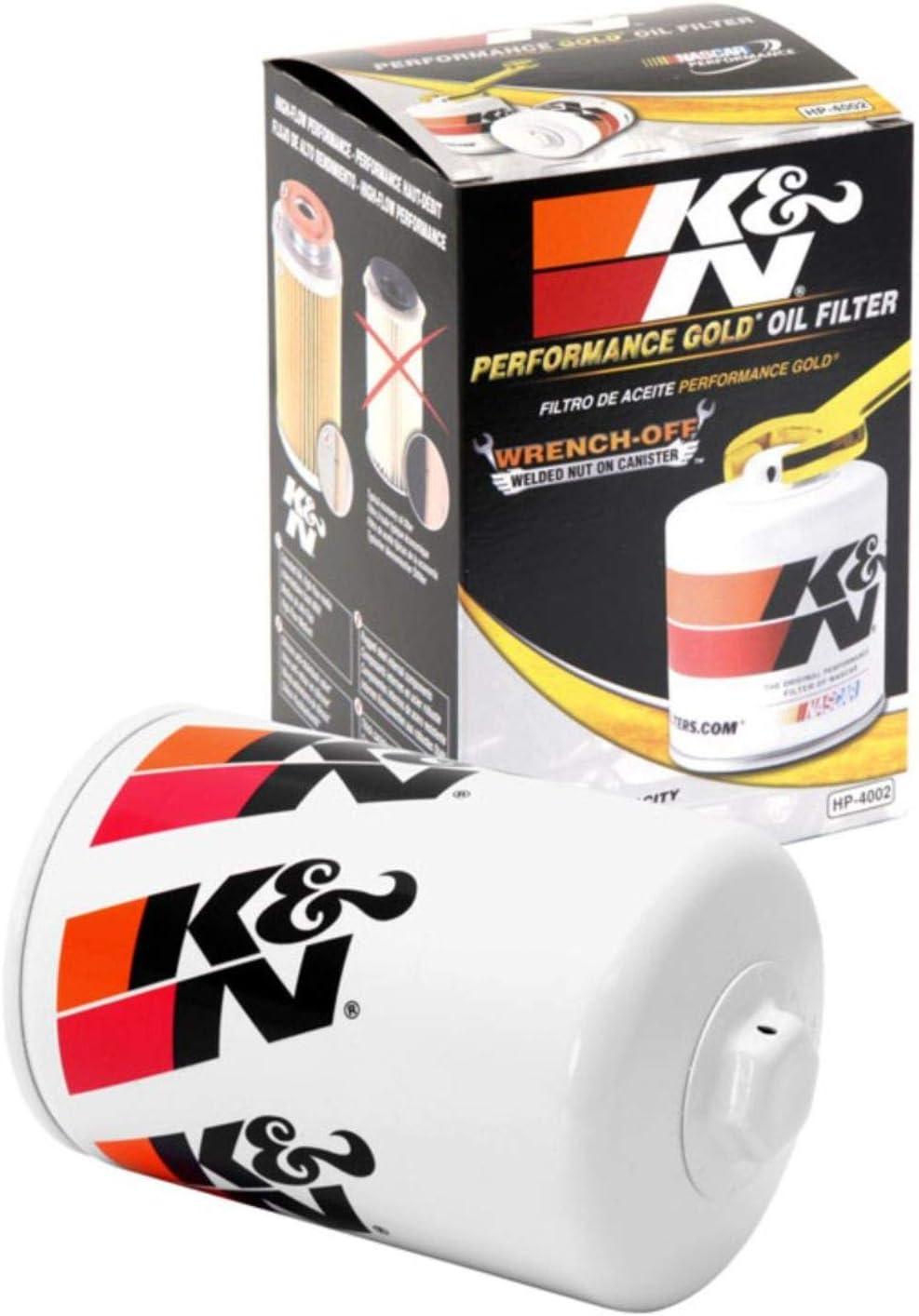 K&N Premium Oil Filter: Designed to Protect your Engine: Fits Select 1983-1994 FORD (E350 Econoline, Club Wagon, F59, F150, F250, F350, F450, E150, E250, Super Duty), HP-4002