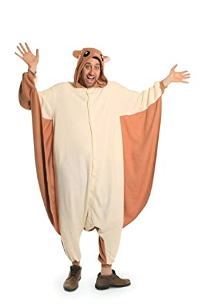 Flying Squirrel Best Quality Unisex Fleece Adult Animal Onesies,Cute Cosplay Costume Onesies Pyjamas Pijamas