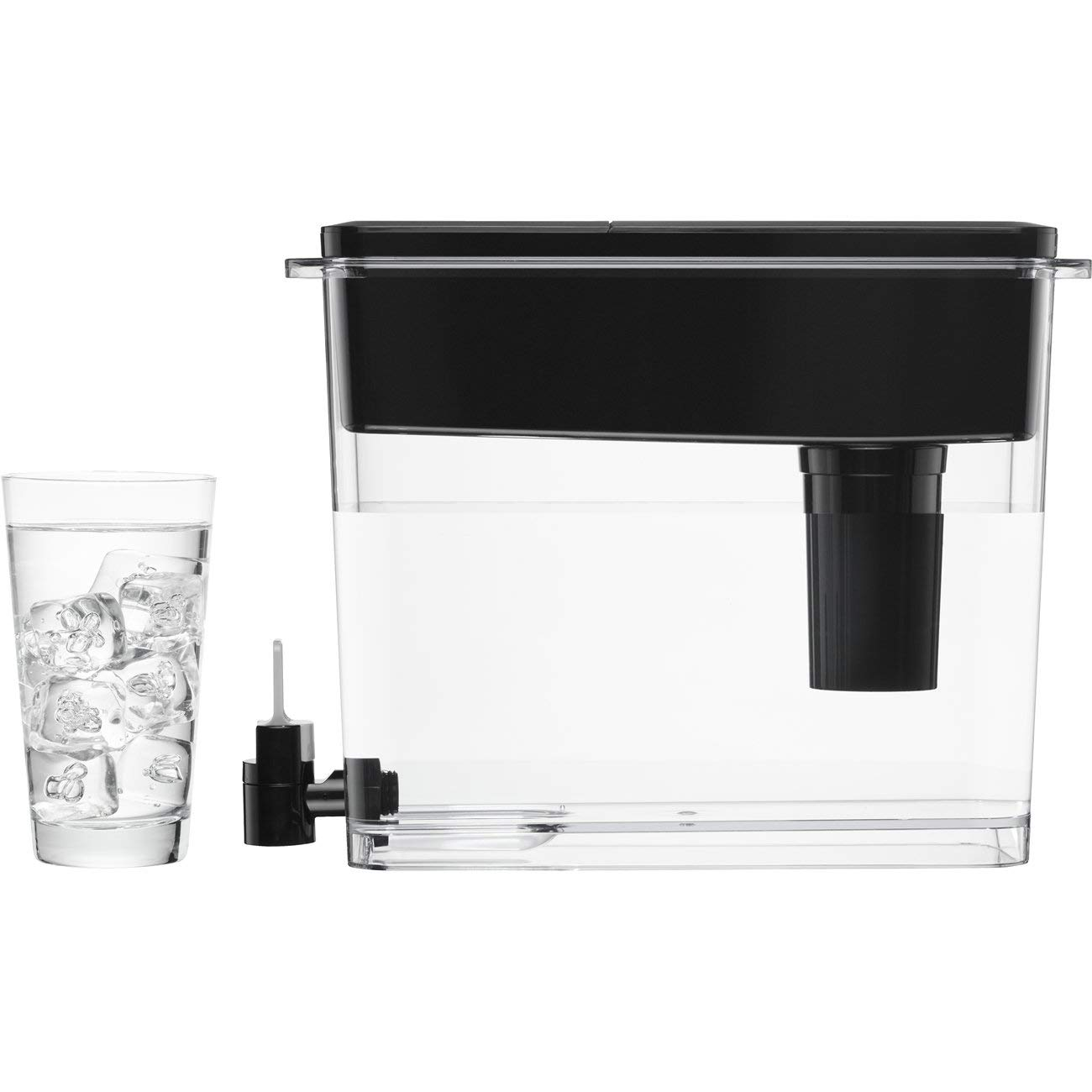 Brita Extra Large 18 Cup UltraMax Water Dispenser and Filter - BPA Free - Black by Brita (Image #5)