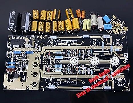 Hi-End United Kingdom Nobsound EAR834 mm tube Phono RIAA Phono-preamplificador para amplificador KIT DIY KIT For HiFi: Amazon.es: Electrónica