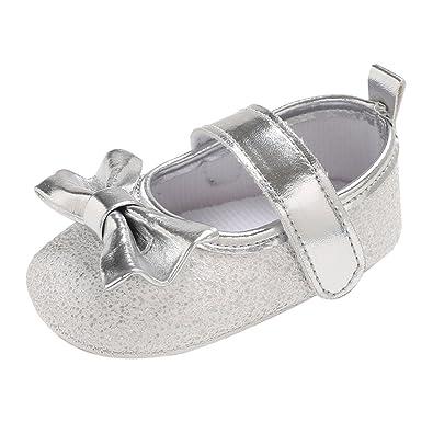 bfdad8086caff Angelof Brillant des Ballerines - Fermoir - NœUd à Deux Boucles Chaussures  Confortables Fille GarçOn BéBé