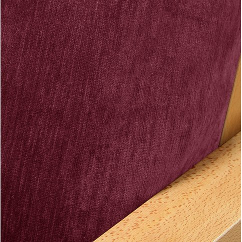 (Chenille Raspberry Fitted Mattress Cover Full)