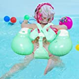 GUOJIAYI الطفل السباحة الدائري نفخ الرضع العائمة أطفال السباحة الملحقات دائرة الطفل حمام اللعب نفخ حلقة السباحة