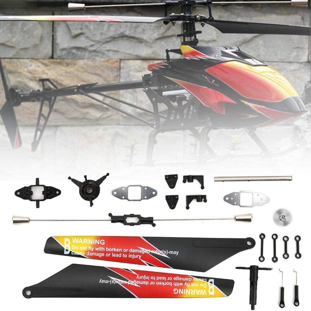 dgtrhted RC Helicopter Principal Propeller Conecte el Ajuste del Accesorio del Eje de la Hebilla for WLTOYS V913