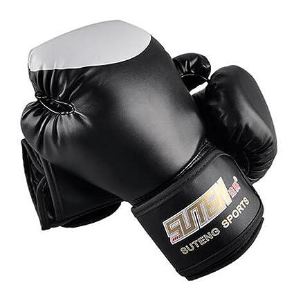 Handfly - Guantes de Boxeo de Poliuretano para Equipo de Entrenamiento de MMA, Guantes de
