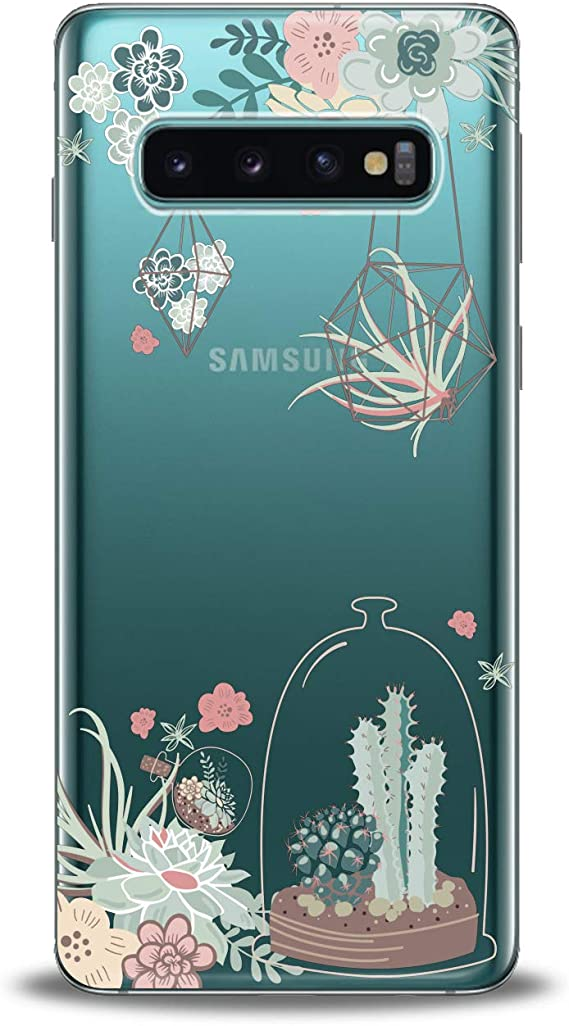 Pretty Cacti Samsung S10 Case