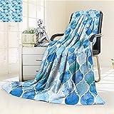 Digital Printing Blanket Oriental Arabic in PaintStyle Islamic Summer Quilt Comforter