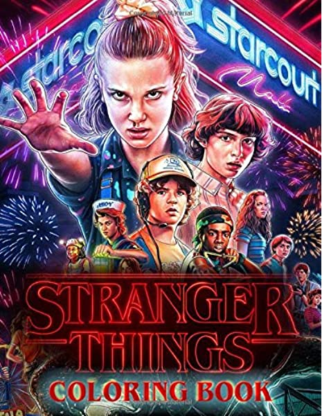 - Stranger Things Coloring Book: Coloring Book For Kids And Adults - Vol 1:  Duham, Greek: 9781701692930: Amazon.com: Books