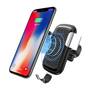 Zyx Car Mount Qi Cargador Inalámbrico para iPhone X 8 Plus ...