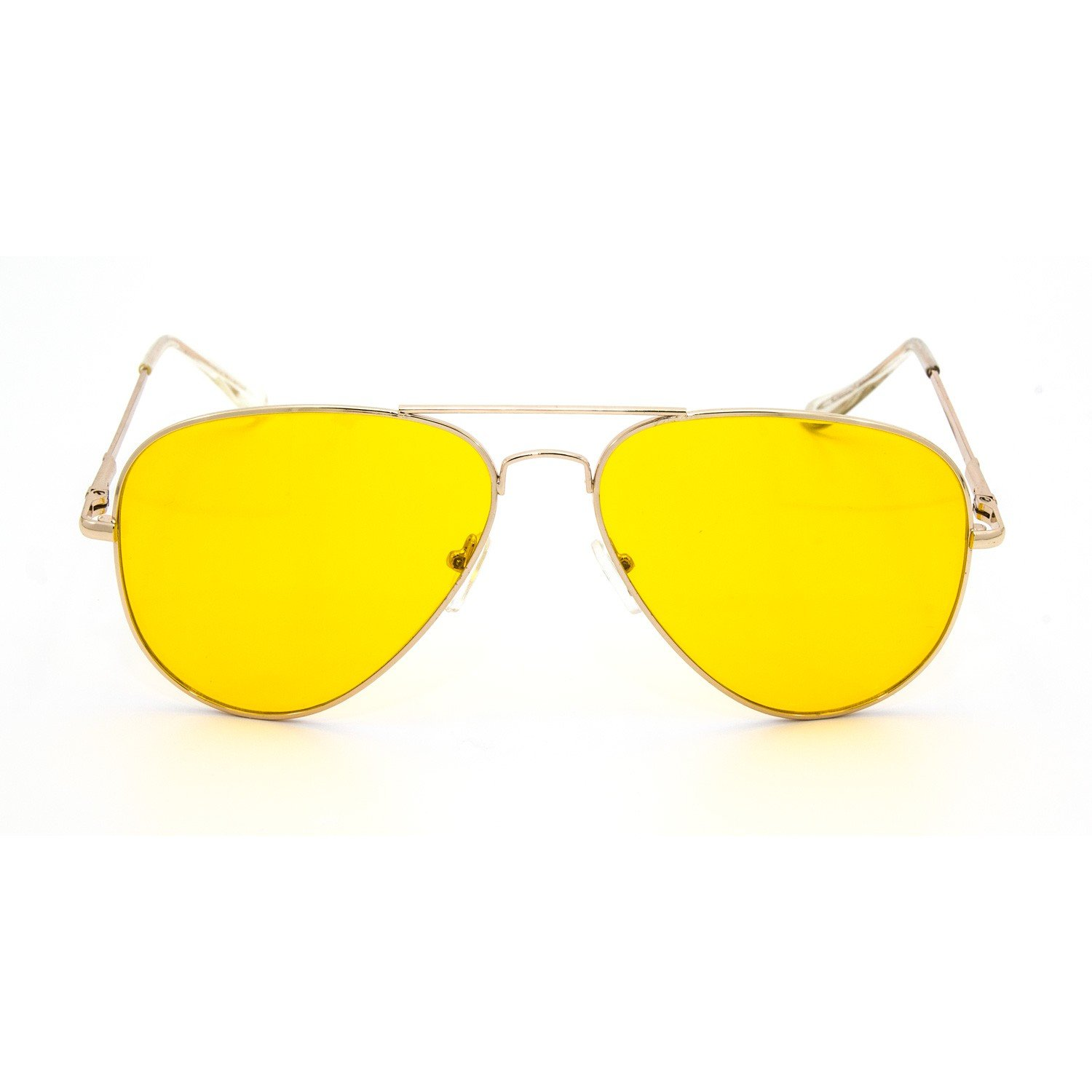 CY SUN Oversized Octagon CLASSIC VINTAGE RETRO Style Clear Lens EYE GLASSES Gold Frame