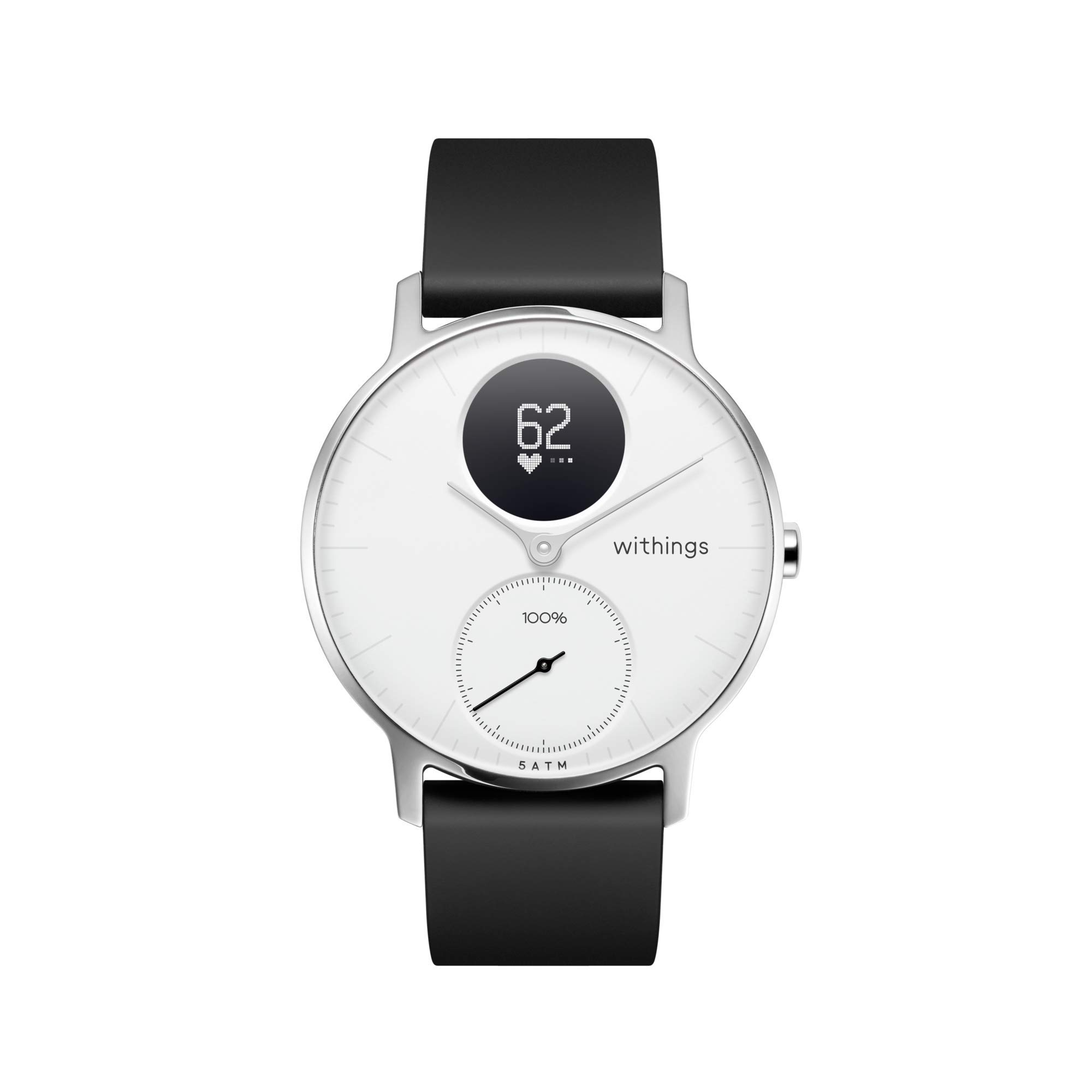 Withings Steel HR Hybrid Smartwatch - Activity, Fitness and Heart Rate Tracker with Connected GPS by Withings
