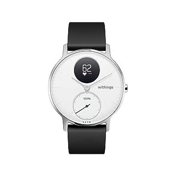 Nokia health Steel HR Reloj, Unisex Adulto, Blanco, 36mm: Amazon.es: Deportes y aire libre