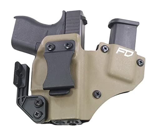 Fierce Defender IWB Kydex Holster Glock 43