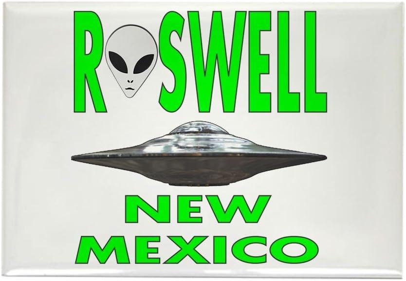 CafePress – Roswell Nuevo México. PNG imanes – rectangular imán, 2