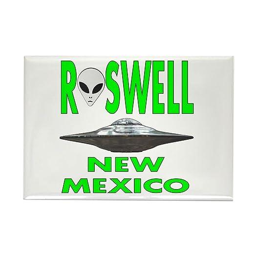 CafePress - Roswell Nuevo México. PNG imanes - rectangular imán, 2 ...