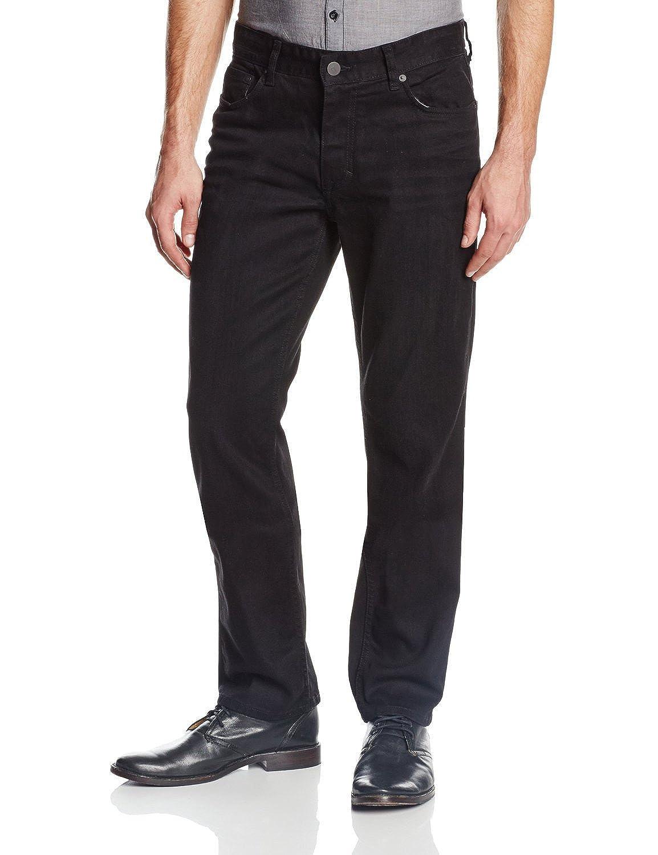 1a4ab95d11c582 Calvin Klein Jeans Men's Herringbone 5 Pocket Slim Straight Pant (32 x 34,  Black) at Amazon Men's Clothing store: