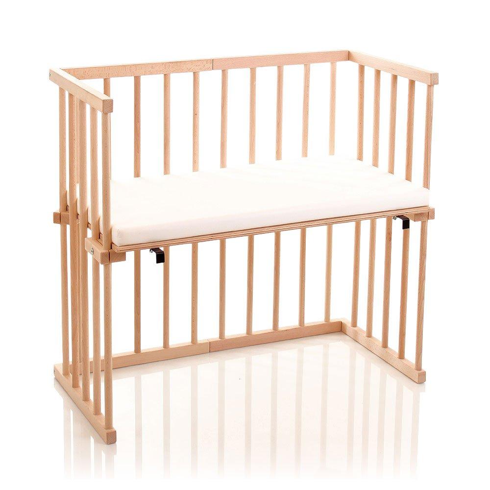 Dreamgood, Lettino sidecar in legno di faggio con materasso 135108