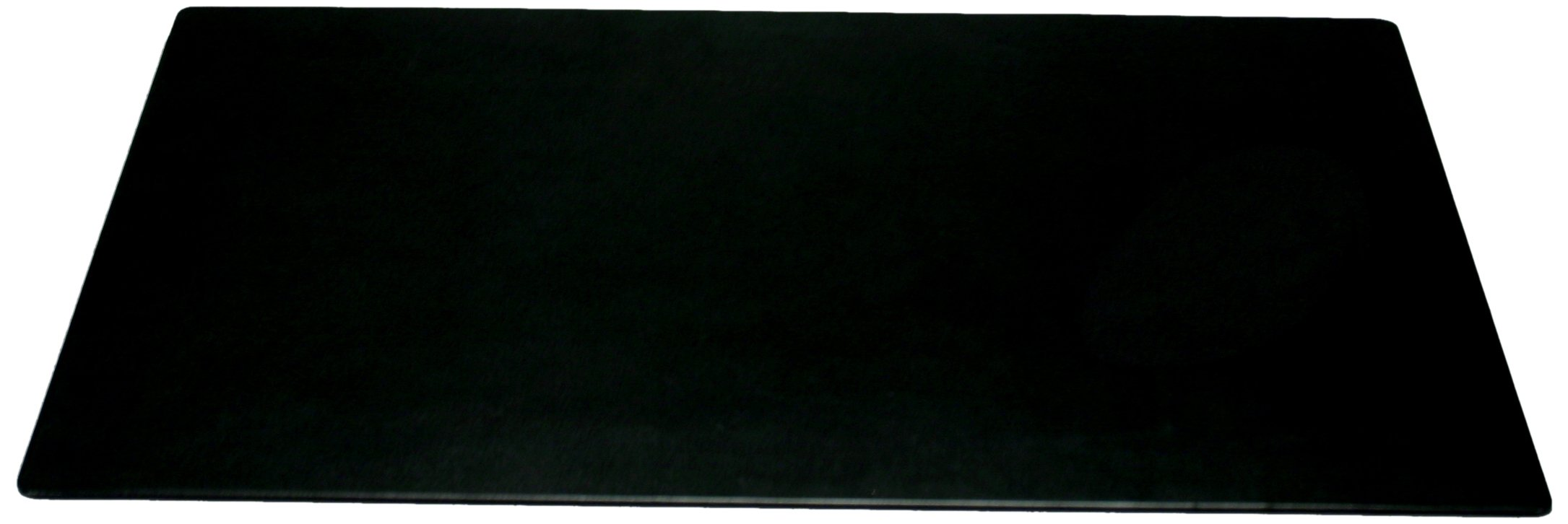 Dacasso Black Leather Desk Mat, 30-Inch by 19-Inch