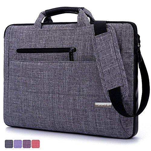 ShenTS 15,6 Zoll Laptop-Tasche, Multifunktions -Anzug Stoff tragbaren Laptop-tragender Beutel / Schulter-Laptop-Tasche / Messenger bag / Notebook-Computer-Hülsen-Kasten-Beutel-Handtasche (15-15,6 Zoll)