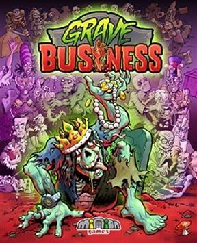 Minion Games MIGGB100 - Juego de Cartas Grave Business: Amazon.es: Juguetes y juegos