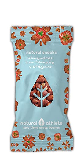 Snack Mix -Natural Athlete- Almendras con tomate y orégano - 100% natural,