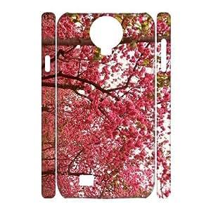 Diy Colorful Cherry Blossom Phone Case for samsung galaxy s4 3D Shell Phone JFLIFE(TM) [Pattern-2] Kimberly Kurzendoerfer