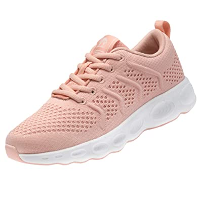 5617cb965 CAMEL CROWN Women Running Shoes Trail Fashion Sneakers Flyknit Comfy  Walking Shoe Mesh Lightweight Athletic Gym