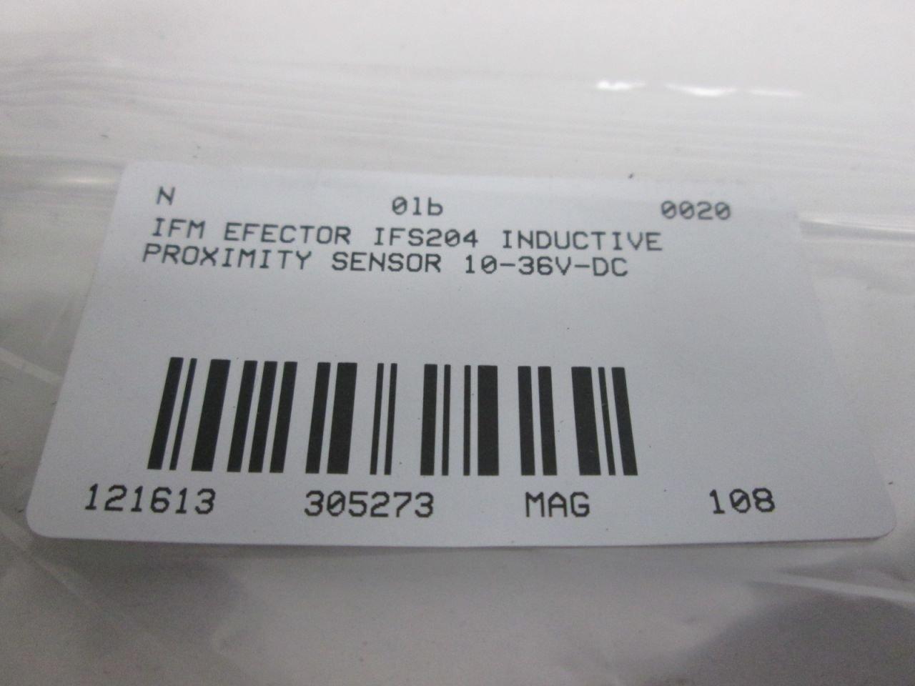 IFM EFECTOR IFS204 NSMP