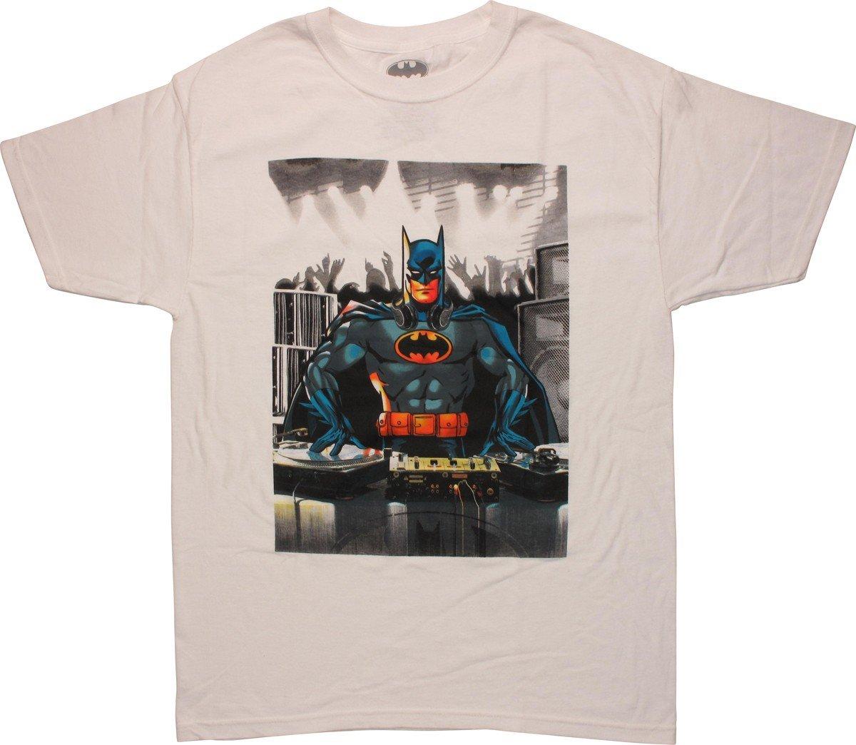Biowolrd Batman Dj Club Dc Comic T S Shirts