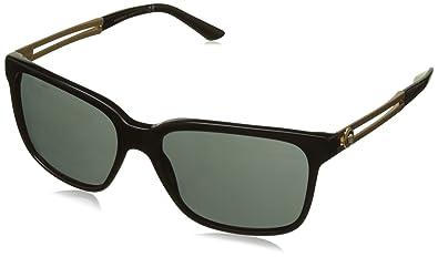 Versace 0VE4307 GB1 87 58, Montures de Lunettes Homme, Noir (Black ... d720d7af8747