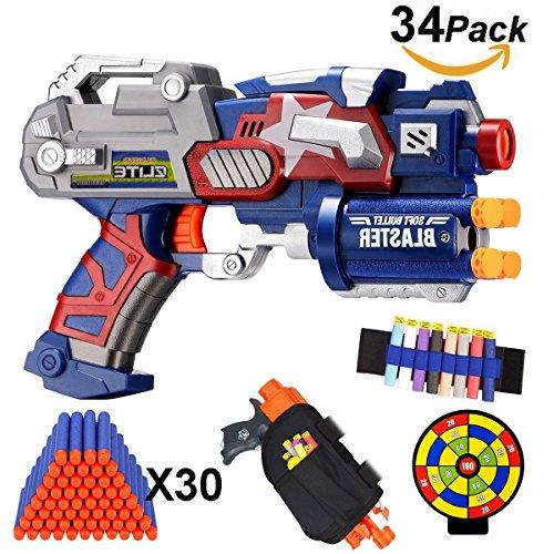 EXSPORT Air Blaster Gun with Tactical Waist Bag Holster ...