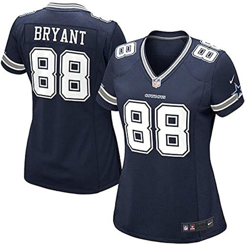 Womens Dallas Cowboys Bryant 88 Nike Blue Jersey