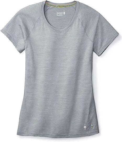 Women/'s West Wood Short Sleeve Baselayer Merino Pointelle Merino Jersey