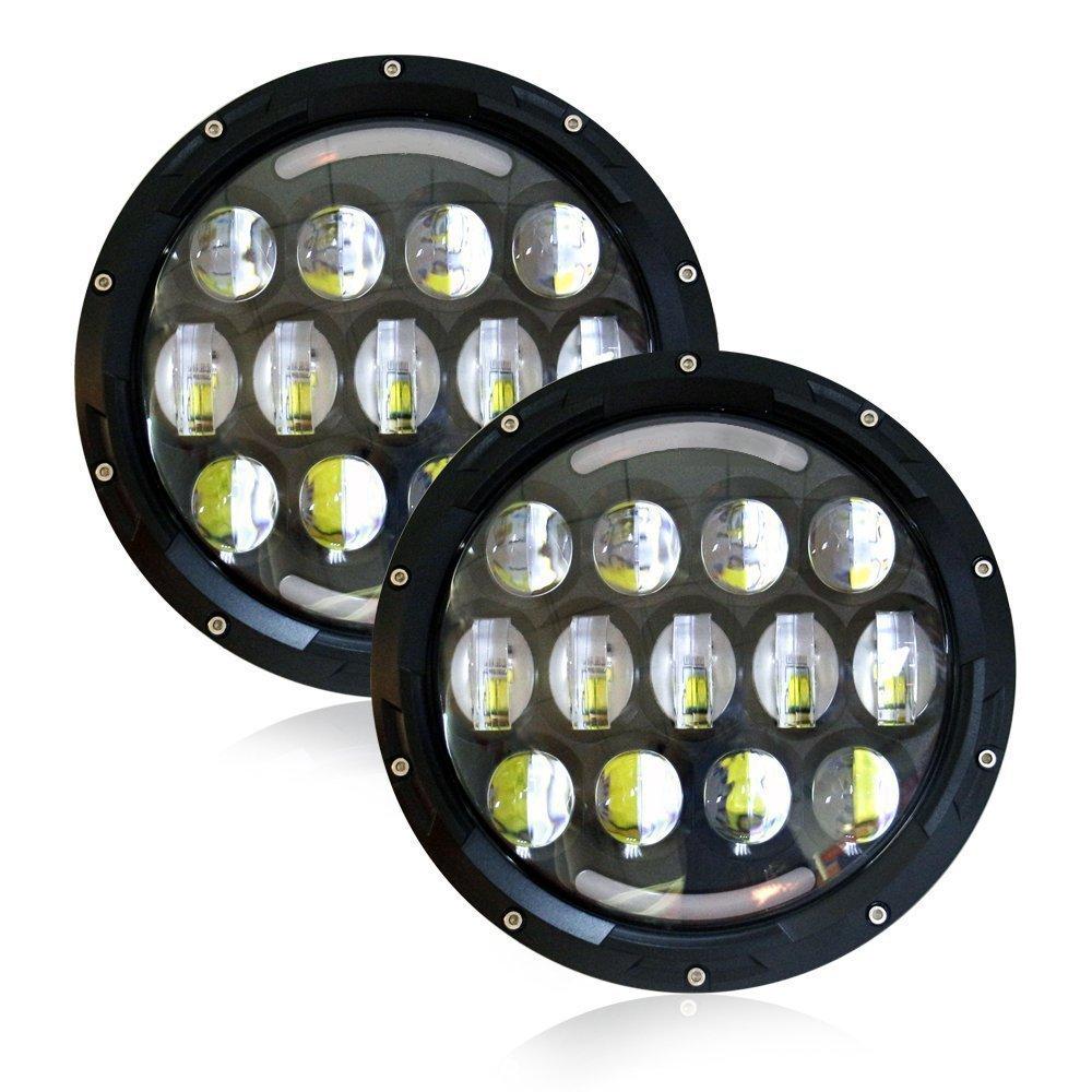 78w 7 inch cree led headlight for jeep wrangler jk tj lj cj kenworth hummer mack ebay. Black Bedroom Furniture Sets. Home Design Ideas