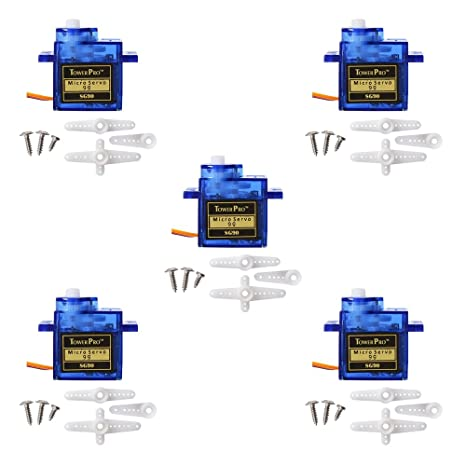 thinklets™ 5x pcs sg90 micro servo motor 9g rc robot for arduino, raspberry  pi: amazon in: industrial & scientific