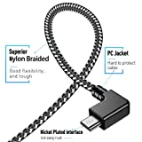 Obeka Compatible 1FT 90 Degree Micro USB to iOS