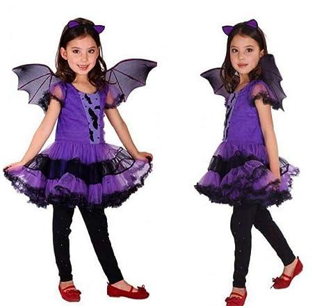 Inception Pro Infinite Costume Bambina Pipistrello - Vampira -  Travestimento - Halloween -Carnevale - Bambini f60ad9d8f27